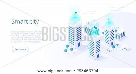 Smart City Vector & Photo (Free Trial) | Bigstock