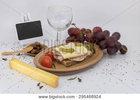 Invitation Grape Harvest, Beaujolais Nouveau, Aperitif Dinner