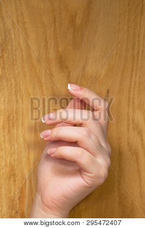 Image Of Beautiful Hands With Beautiful Nails Female Hands With Nail Design