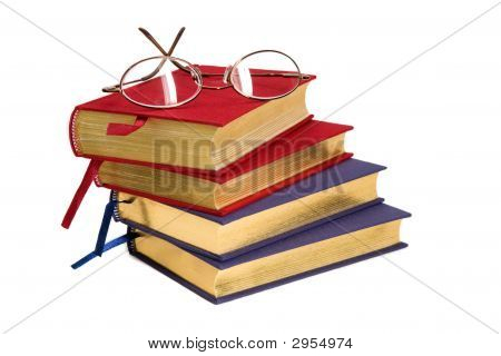 Gold Bound Books_Reading Glasses