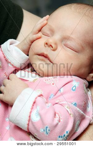 newborn child girl