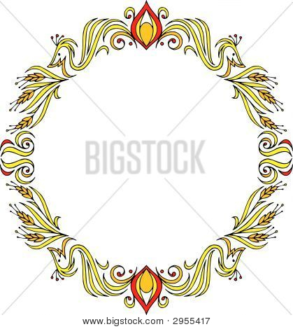 Vector clip-art / decorative frame for your design poster