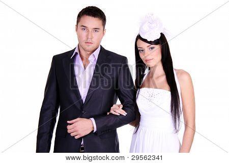 Loving couple standing in the studioLoving couple standing in the studioLoving couple standing in the studio