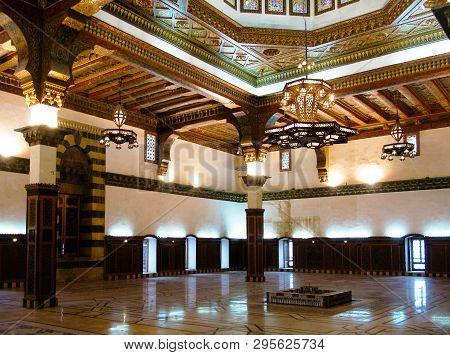 Interior View To The Mamluk Throne Hall Under The Citadel Of Aleppo - 06 January 2011 Syria