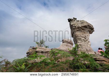 Amazing Shape Of Rock At Pa Hin Ngam National Park , Thailand