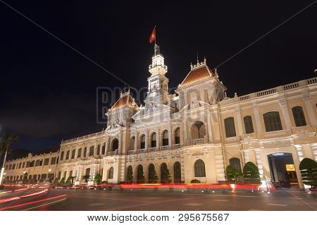 The People's Committee Or Ho Chi Minh City Hall  In Ho Chi Minh City , Vietnam.