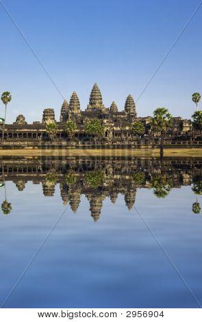 Angkor wat. Near Siem Riep city. Cambodia poster