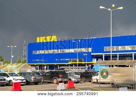 Bucharest, Romania - April 16, 2019: Ikea Pallady, The Second Ikea Store To Open In 2019 In Bucurest