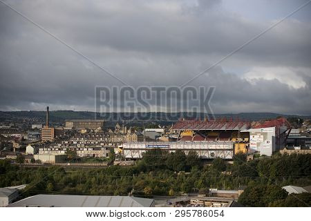 Bradford, Uk, 9th October 2013, The Valley Parade Football Ground, Home Of Bradford City Afc Footbal
