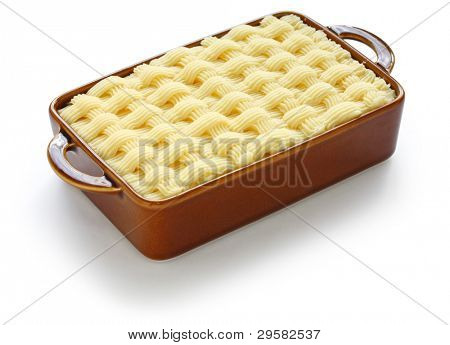 cottage pie, shepherd's pie, uncooked, english cuisine