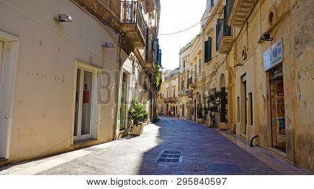 Lecce, Italy - August 2, 2017: Piazza Del Duomo Square Lecce, Apulia, Italy