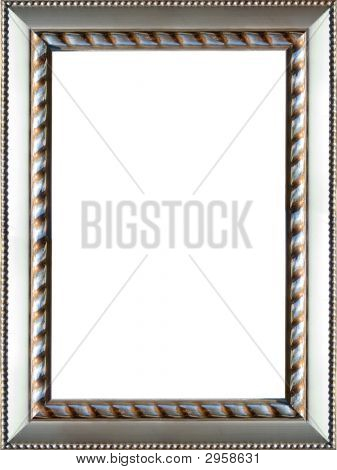 Ornate Silver Picture Frame