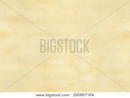 Seamless Abstract Beige Watercolor Background. Paper Texture.