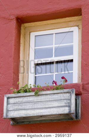 Charming Window And Planter Box