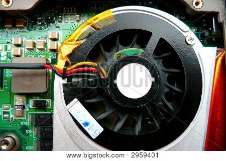 Cooling Fan And Circuit Board