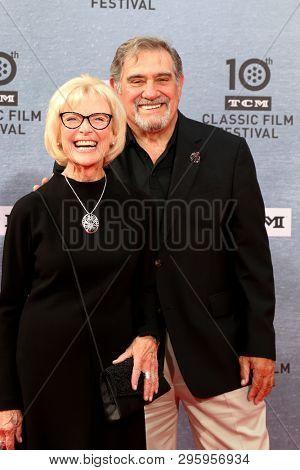 LOS ANGELES - APR 11:  Patty McCormack, Dan Lauria at the 2019 TCM Classic Film Festival Gala -