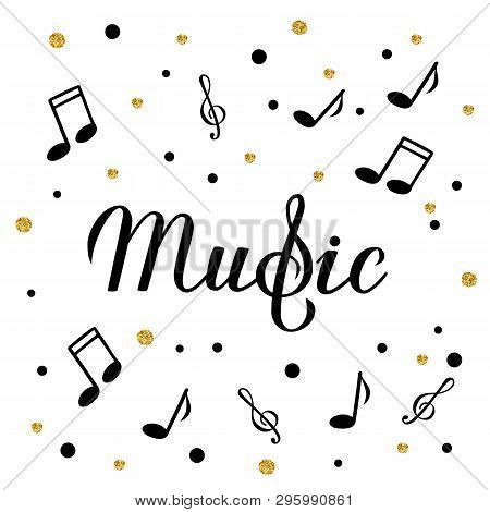 Music Calligraphy Vector & Photo (Free Trial) | Bigstock