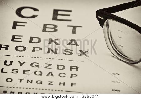 Vintage Eyechart