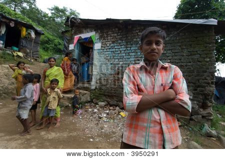 Boy In Slum