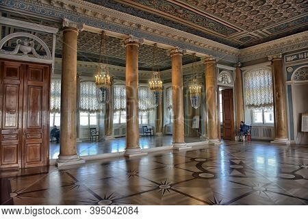 Russia, St. Petersburg, 20,03,2016 Interior Of The Grand Dining Room.the Russian Museum, The Strogan