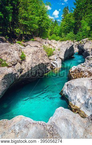 Well Known Rafting And Kayaking Place In Europe. Fantastic Recreation Place And Kayaking Destination