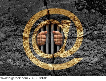 Prisoner Of Technology And Trapped By The Internet As A Social Media And Big Tech Prison Psychology