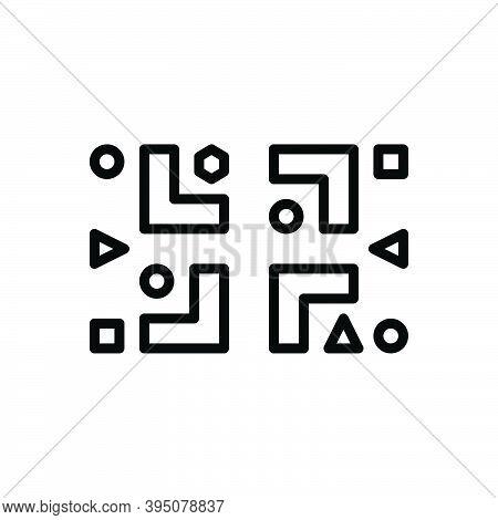 Black Line Icon For Diversity Diversification Transformation Variation Change Multeity Multiformity