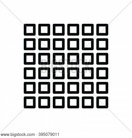 Black Line Icon For Multiple Various Different Varied Diverse Several Collective Pattern