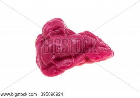 Chewing Gum Peppermint Isolated On White Background