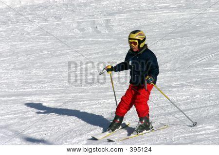 Debutant Skier