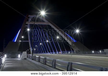 Lowry Avenue Bridge At Roadside