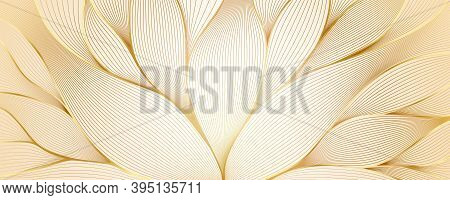 Abstract Wavy Pattern. Hand Drawing Style On Floral Theme. Vintage Vector Lineart. The Motifs Of Art