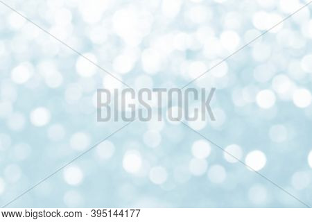 Blue defocused glittery background design