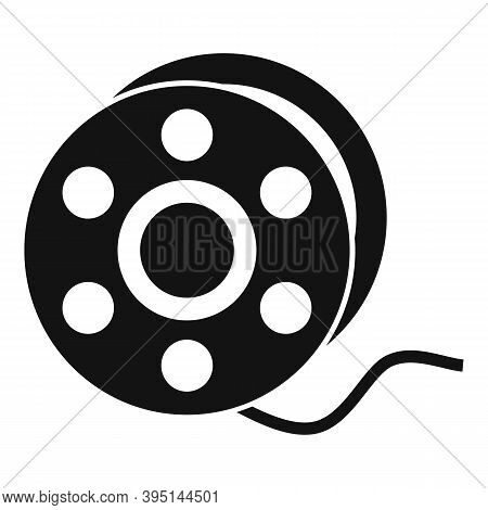 Catch Fishing Reel Icon. Simple Illustration Of Catch Fishing Reel Vector Icon For Web Design Isolat