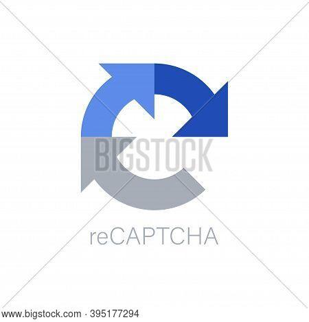 Captcha Vector Icon, Recaptcha I Am Not A Robot Isolated Security Symbol Vector Internet Generate We