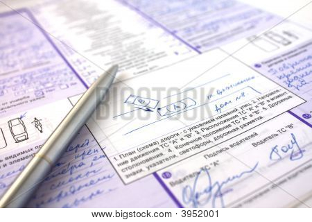 Documents On Insurance Of The Car