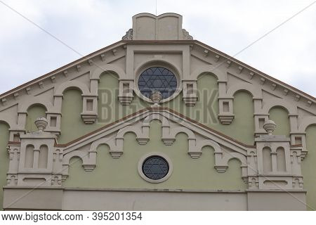 Drohobych, Ukraine - October 23, 2020: The Choral Synagogue Is A Sacred Place For The Jews