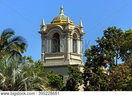 San Diego,ca - May 26,2014:a Fragment Of A Beautiful Historic Building In Balboa Park San Diego,cali