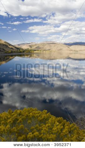 Topaz Lake On A Cloudy Afternoon