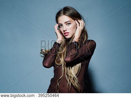 Flirting Dating, Romantic Woman And Seduction Girl