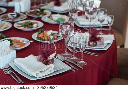 Quality Served Restaurant Table For Wedding Party