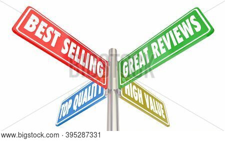 Best Selling Great Reviews Top Quality High Value Signs 3d Illustration