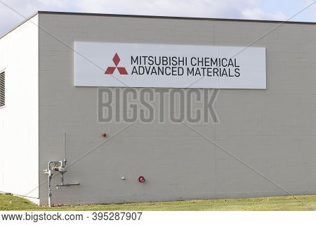 Ft. Wayne - Circa November 2020: Mitsubishi Chemical Advanced Materials Plant. Mitsubishi Chemical M