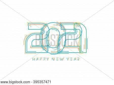 2021 Happy New Year Card For Seasonal Holidays Flyer, Greetings And Invitations Cards, Congratulatio
