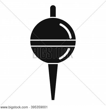 Bobber Hobby Icon. Simple Illustration Of Bobber Hobby Vector Icon For Web Design Isolated On White