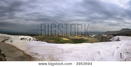 Pamukkale Panorama, Turkey