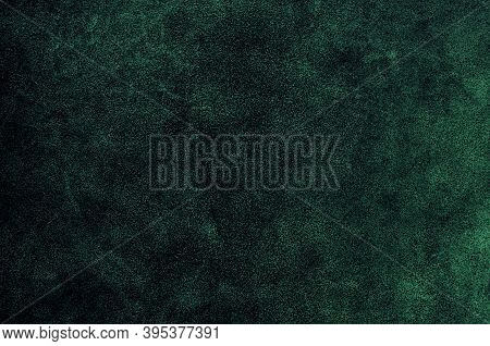 Dark Green Color Leather Skin Natural With Design Lines Pattern Or Abstract Background.can Use Wallp