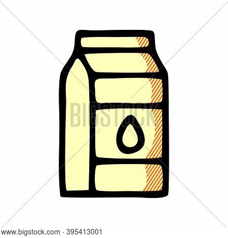 Milk Icon Isolated On White Background From Breakfast Collection. Milk Icon Trendy And Modern Milk S