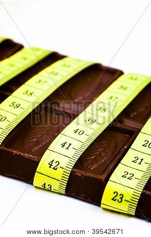 Chocolate And Tape Measure