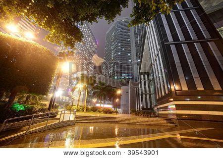 Downtown Of Guangzhou In China